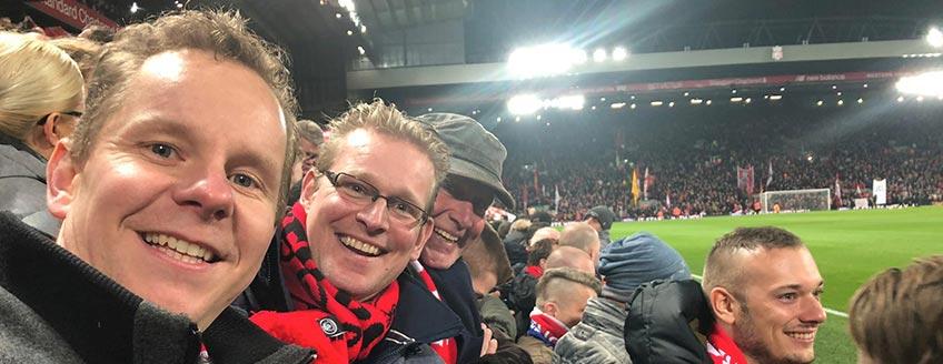 Voetbalreizen Liverpool FC