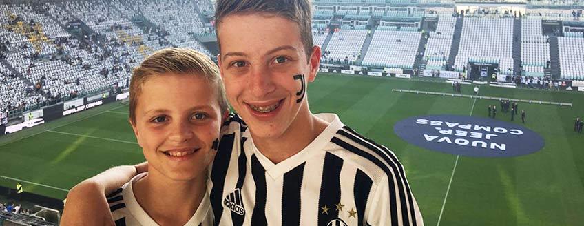 Voetbalreizen Juventus