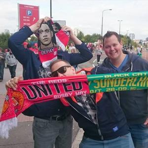 Voetbalreizen Manchster United