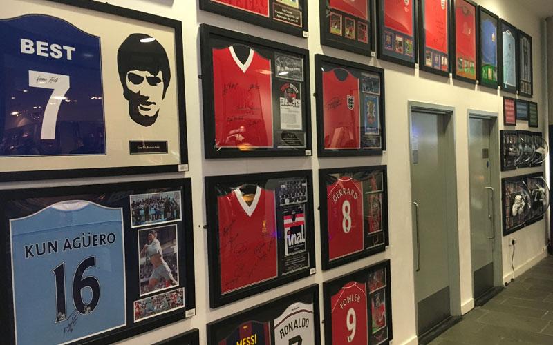 Voetbalmuseum bezoeken