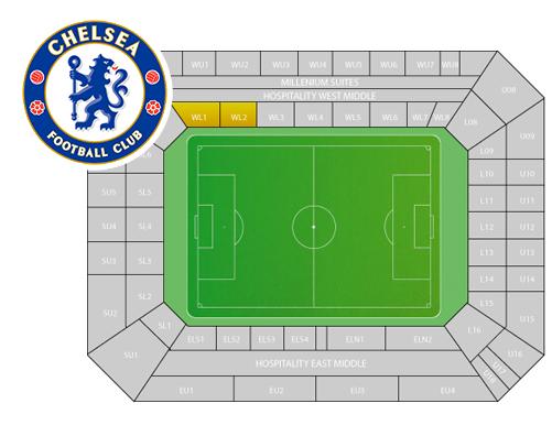 Zitplaatsen Chelsea