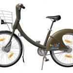 Velib fiets Parijs