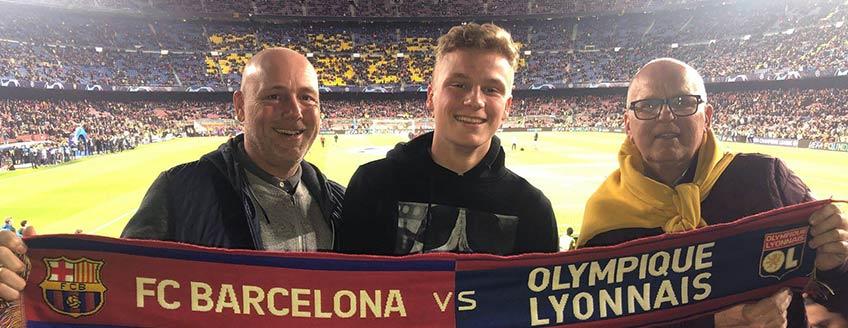 Voetbalreizen Barcelona