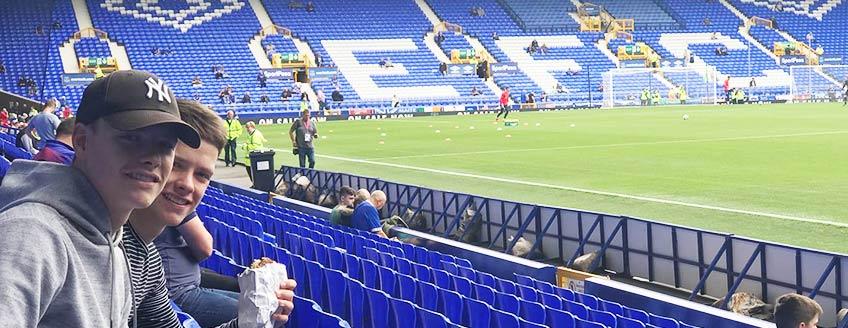 Voetbalreizen Everton