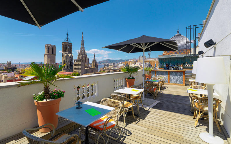H10 Hotels in het centrum van Barcelona