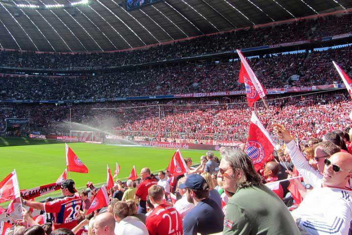 Voetbalreis Bayern München – Benfica