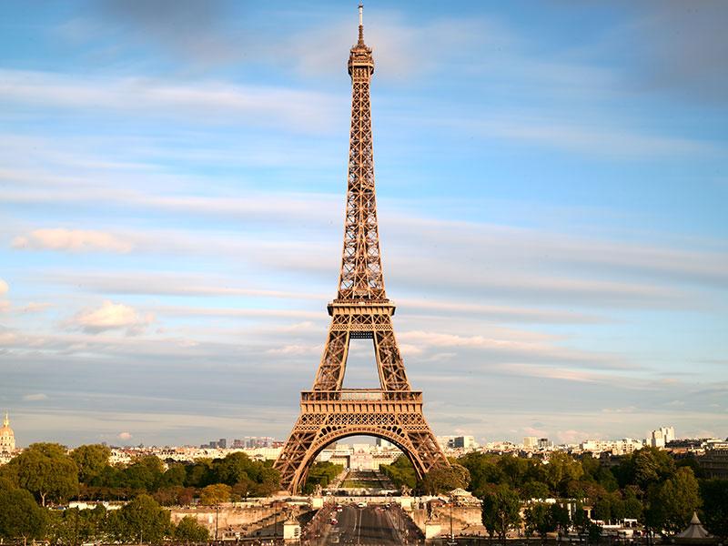 Voetbalreis Parijs eiffeltoren